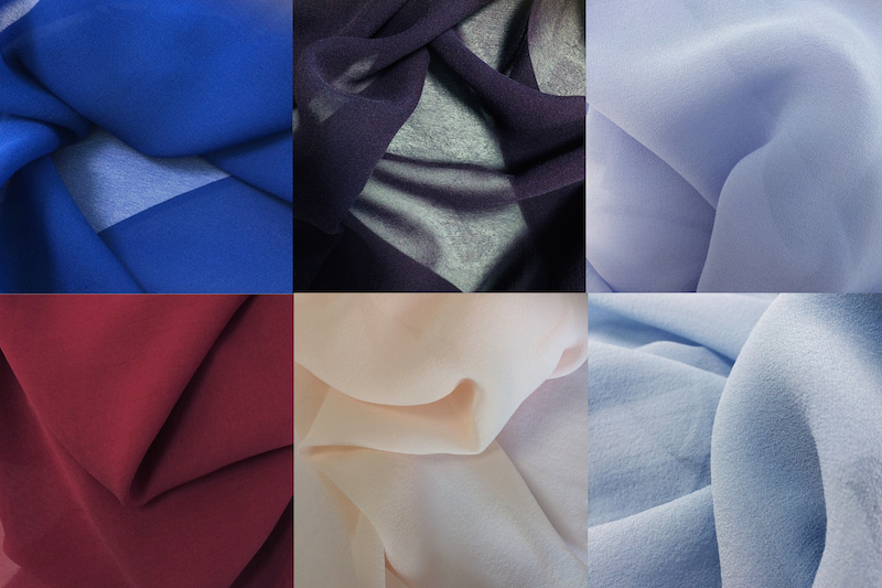 Pongees supports key looks for autumn/winter 2020/2021 with an even greater range of on-trend colours