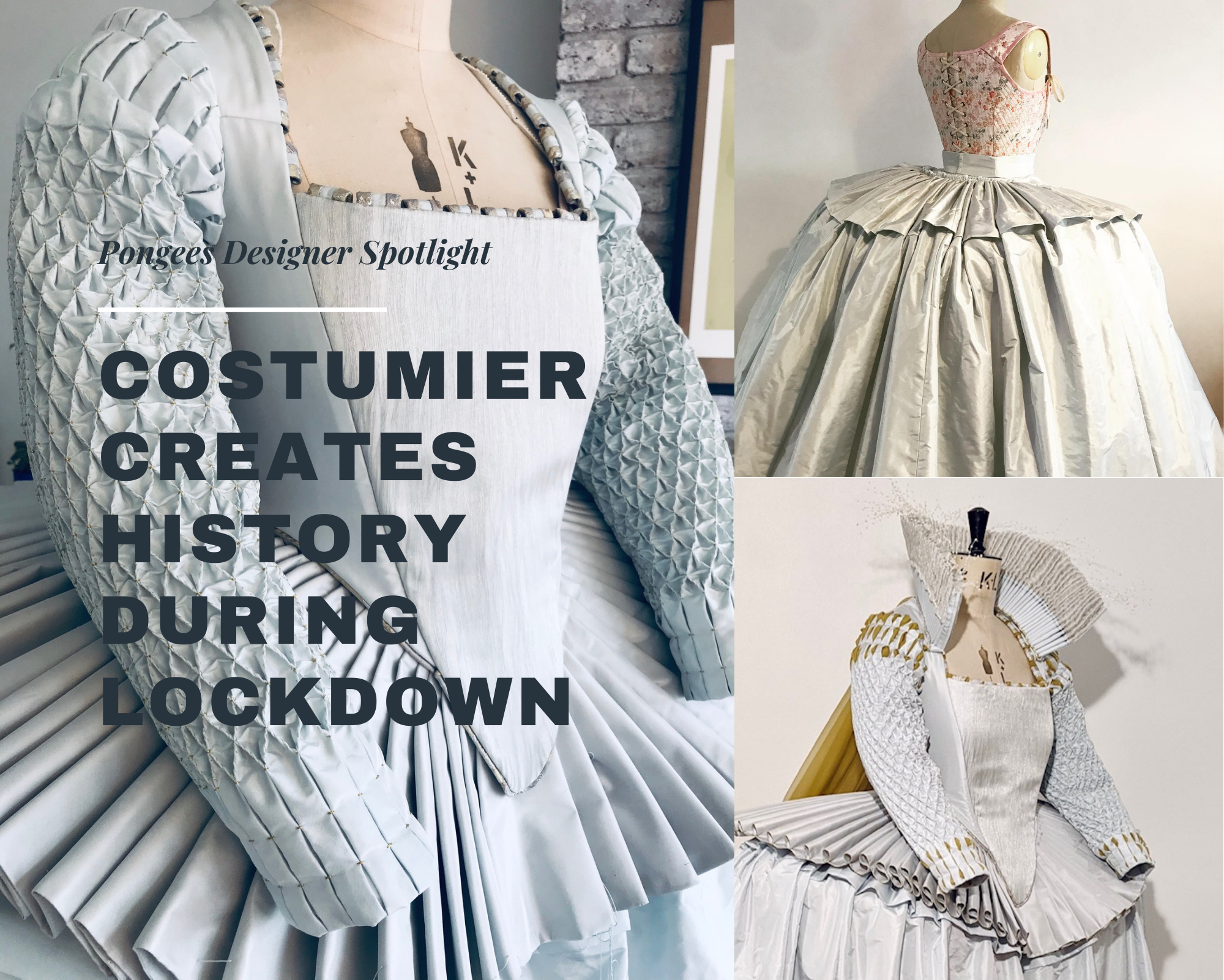 Costumier creates history during lockdown